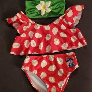 Girls Disney swimsuit sz 7-8